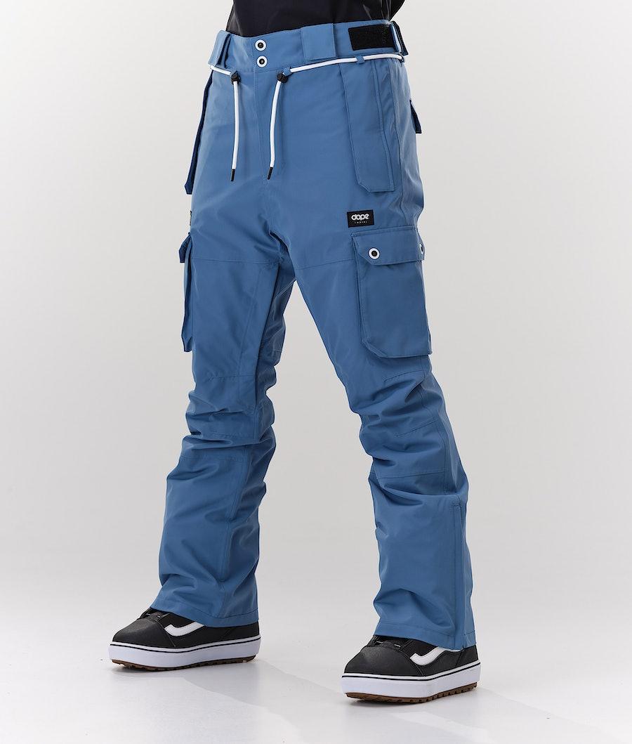 Iconic W Snowboard Pants Women Blue Steel