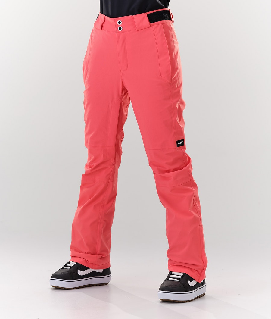 Dope Con Women's Snowboard Pants Coral