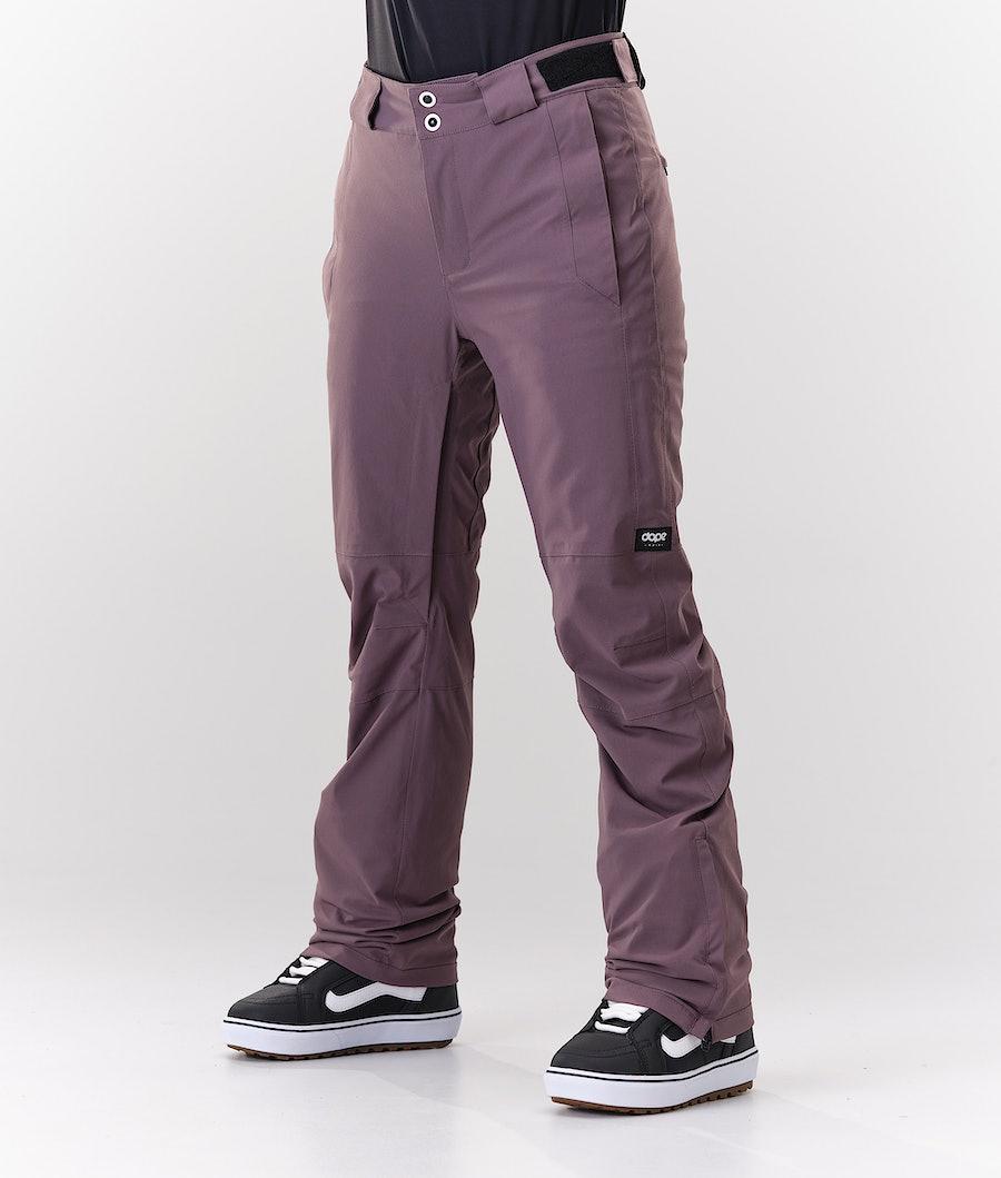 Con Snowboard Pants Women Faded Grape