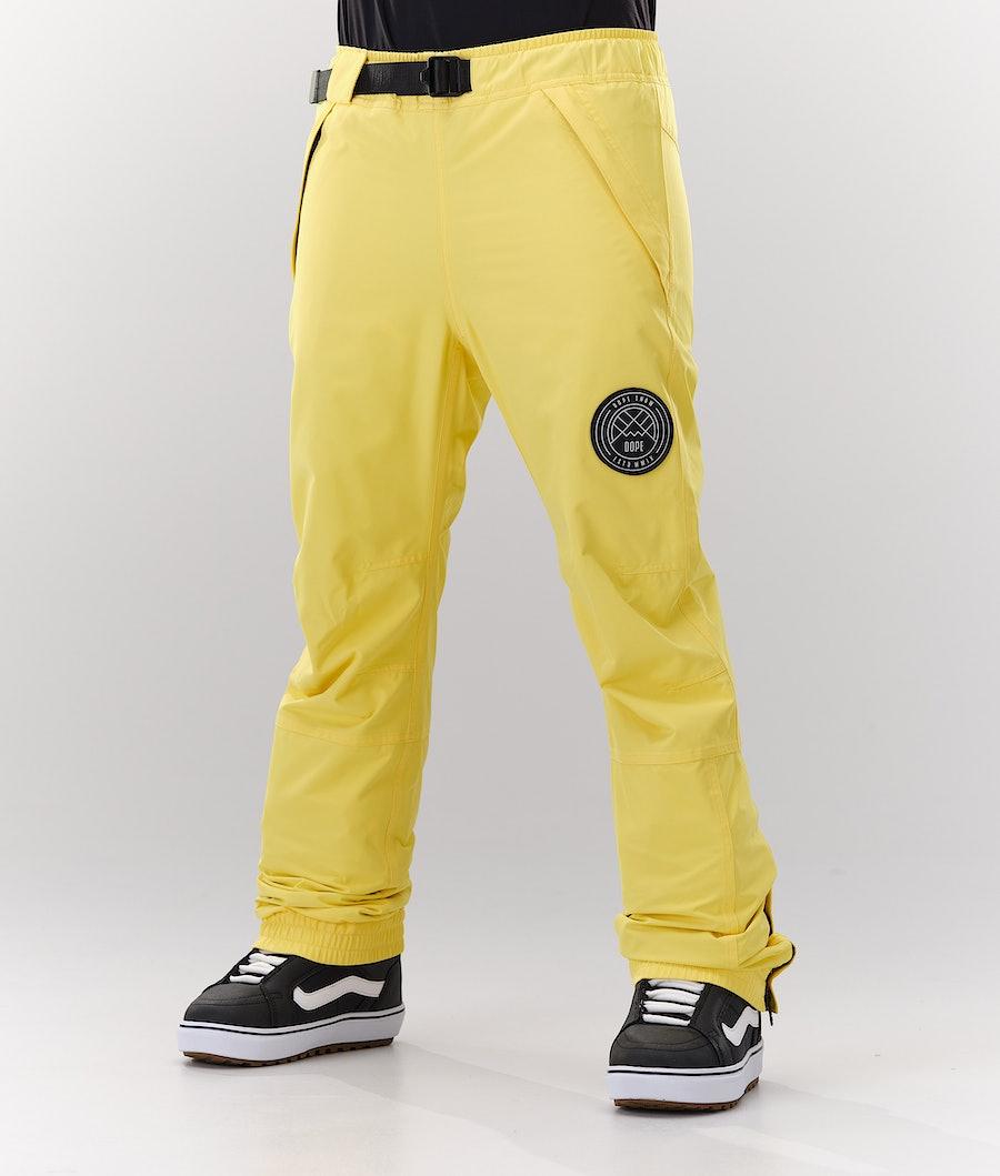 Dope Blizzard W Women's Snowboard Pants Faded Yellow