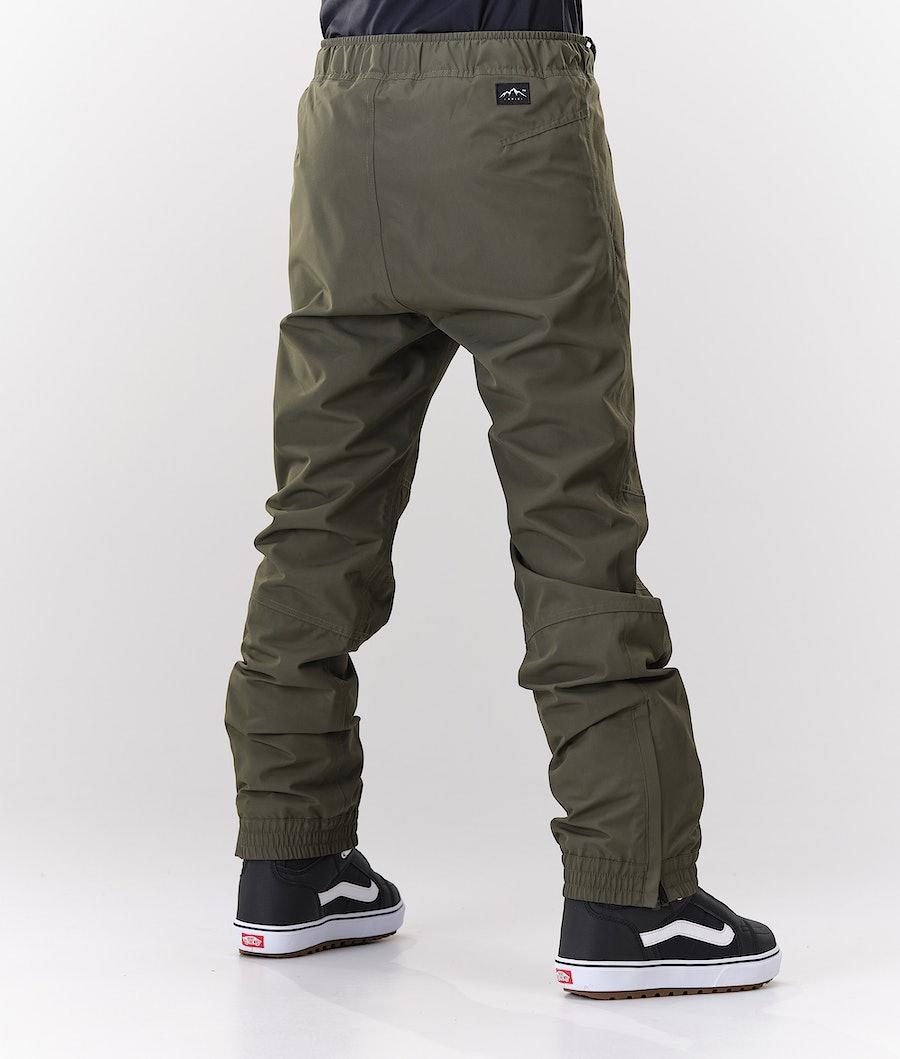 Dope Blizzard W Women's Snowboard Pants Olive Green