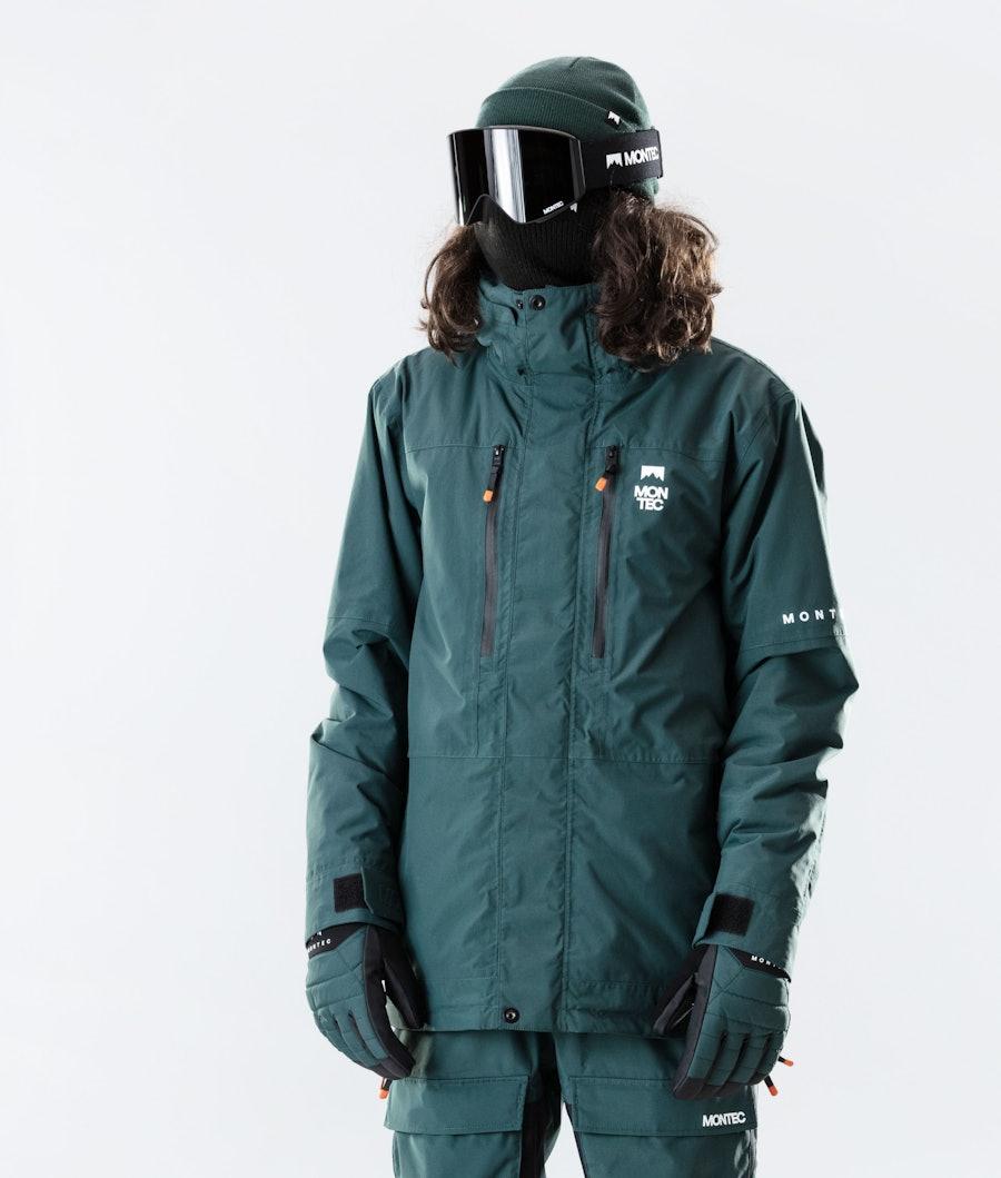 Fawk Ski Jacket Men Dark Atlantic