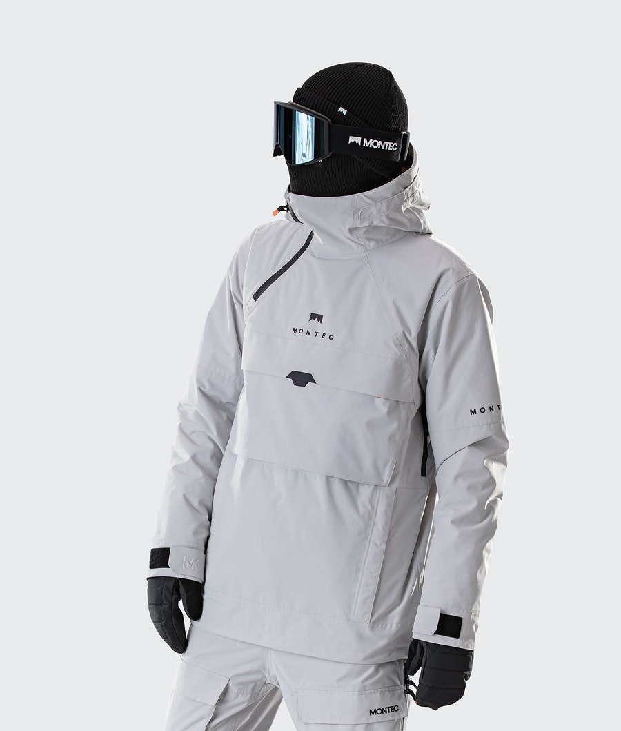 Dune Ski Jacket Men Light Grey
