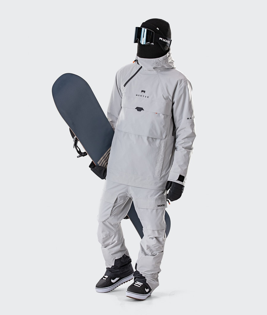 Montec Dune Snowboard Jacket Light Grey