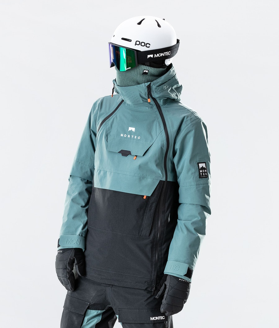 Doom Ski Jacket Men Atlantic/Black