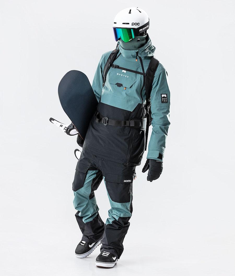Montec Doom Snowboardjacka Atlantic/Black
