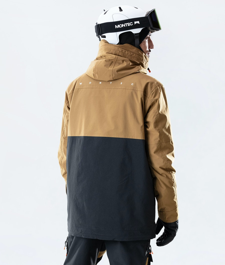 Montec Doom Ski Jacket Gold/Black