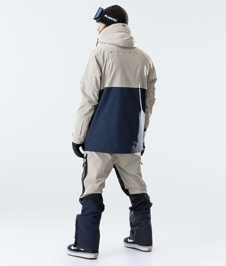 Montec Doom Snowboardjacka Sand/Black/Marine