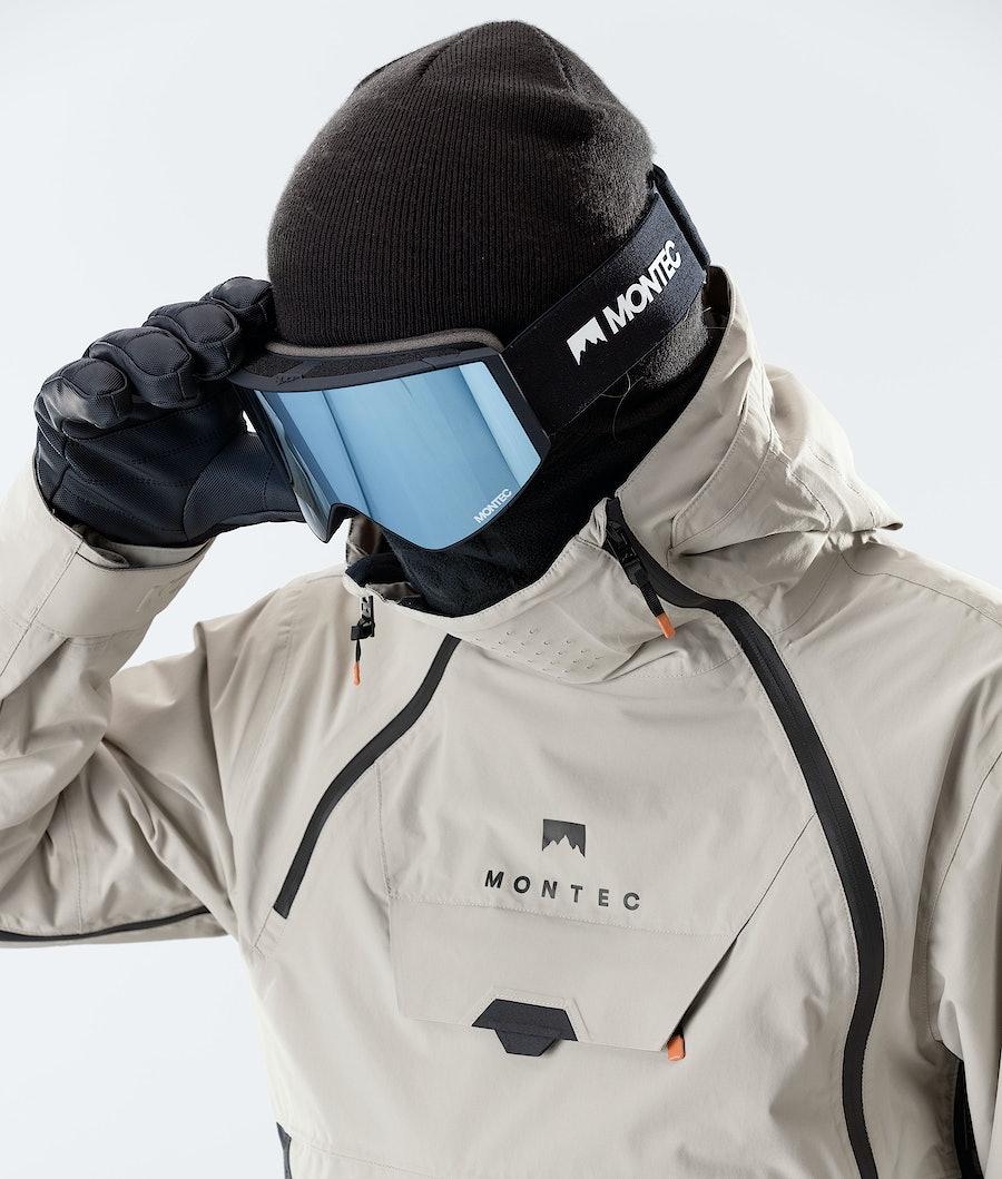Montec Doom Ski Jacket Sand/Black/Marine