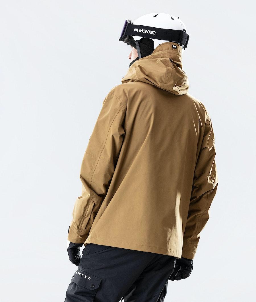 Montec Typhoon Snowboard Jacket Gold