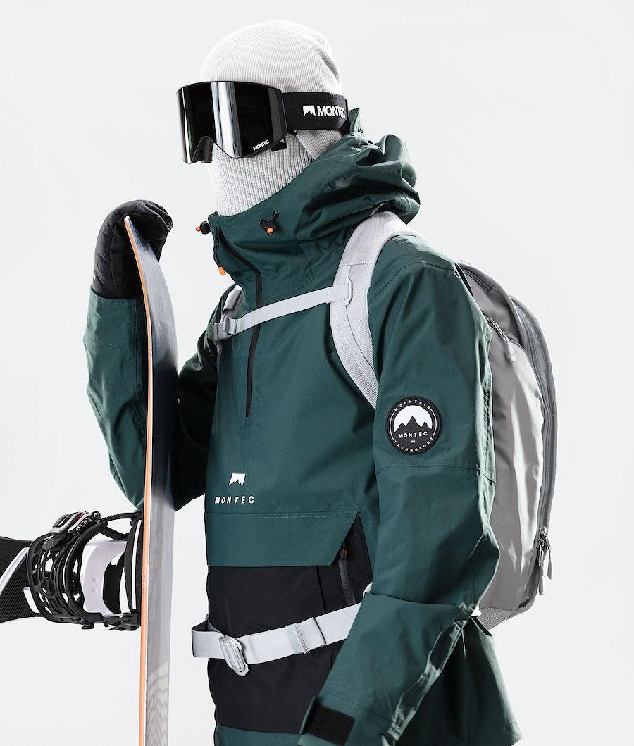 Montec Typhoon Snowboard Jacket Dark Atlantic/Black