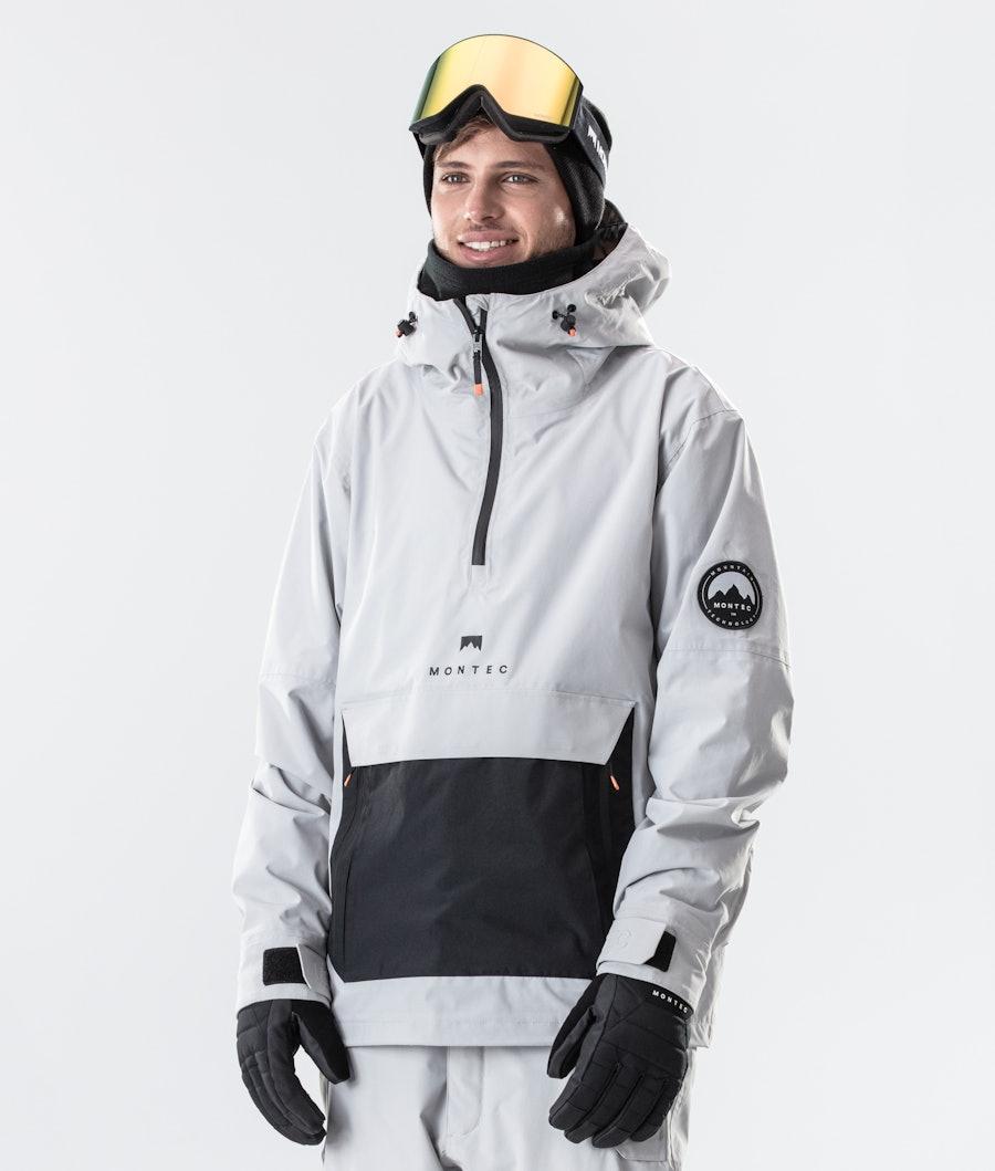 Typhoon Ski Jacket Men Light Grey/Black