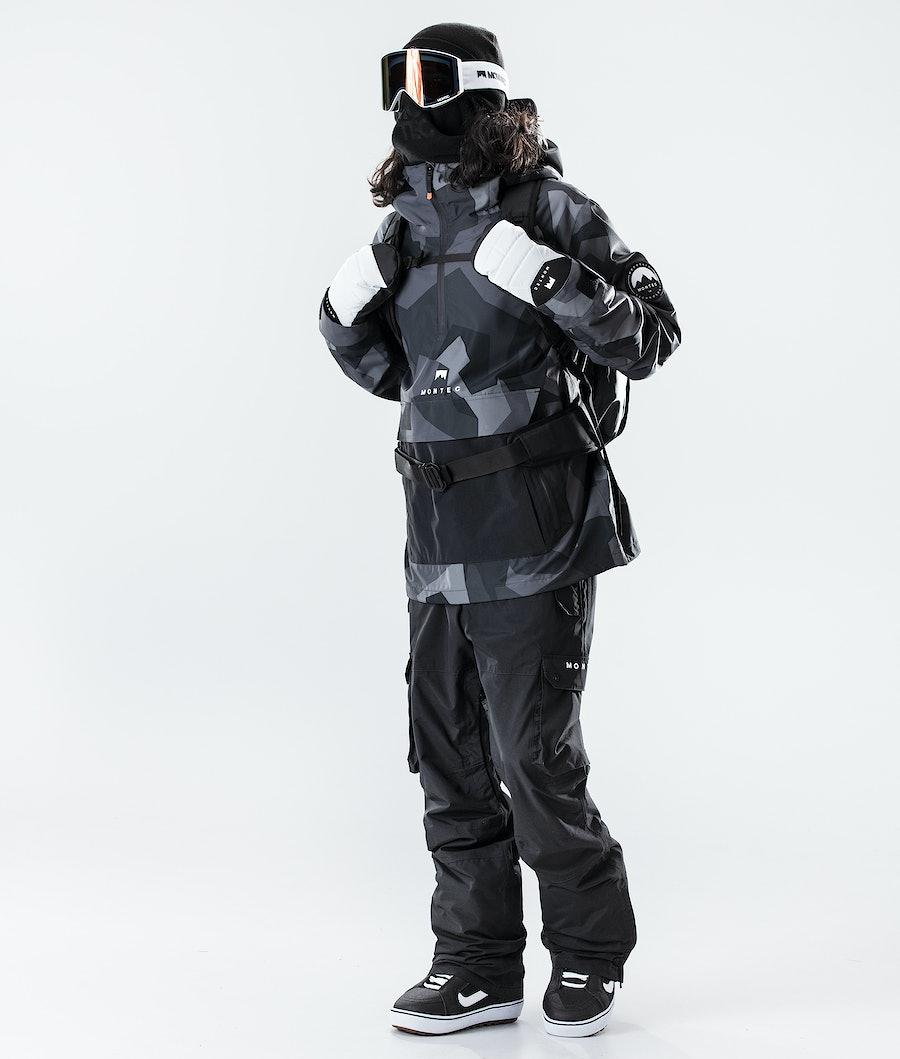 Montec Typhoon Snowboard Jacket Night Camo/Black