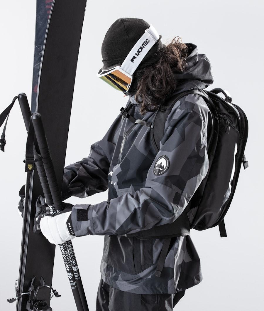 Montec Typhoon Ski Jacket Night Camo/Black