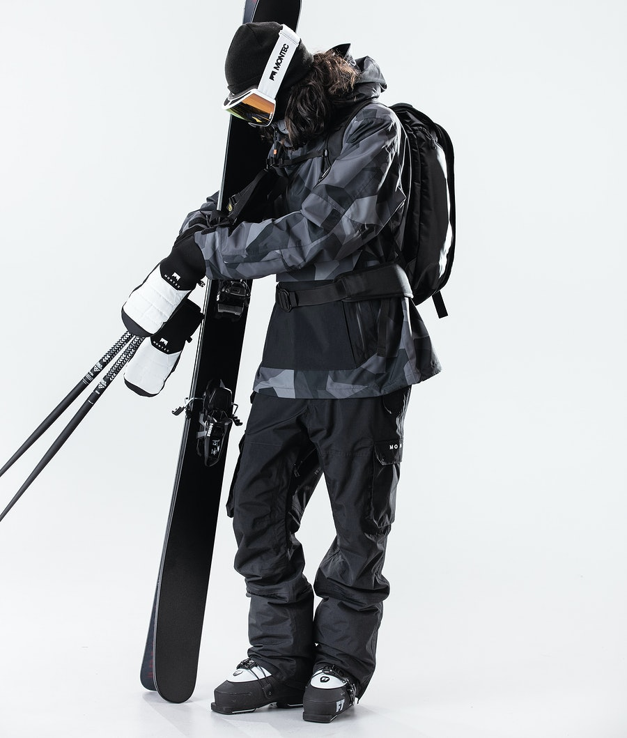Montec Typhoon Ski Jacket Night Camo/Black