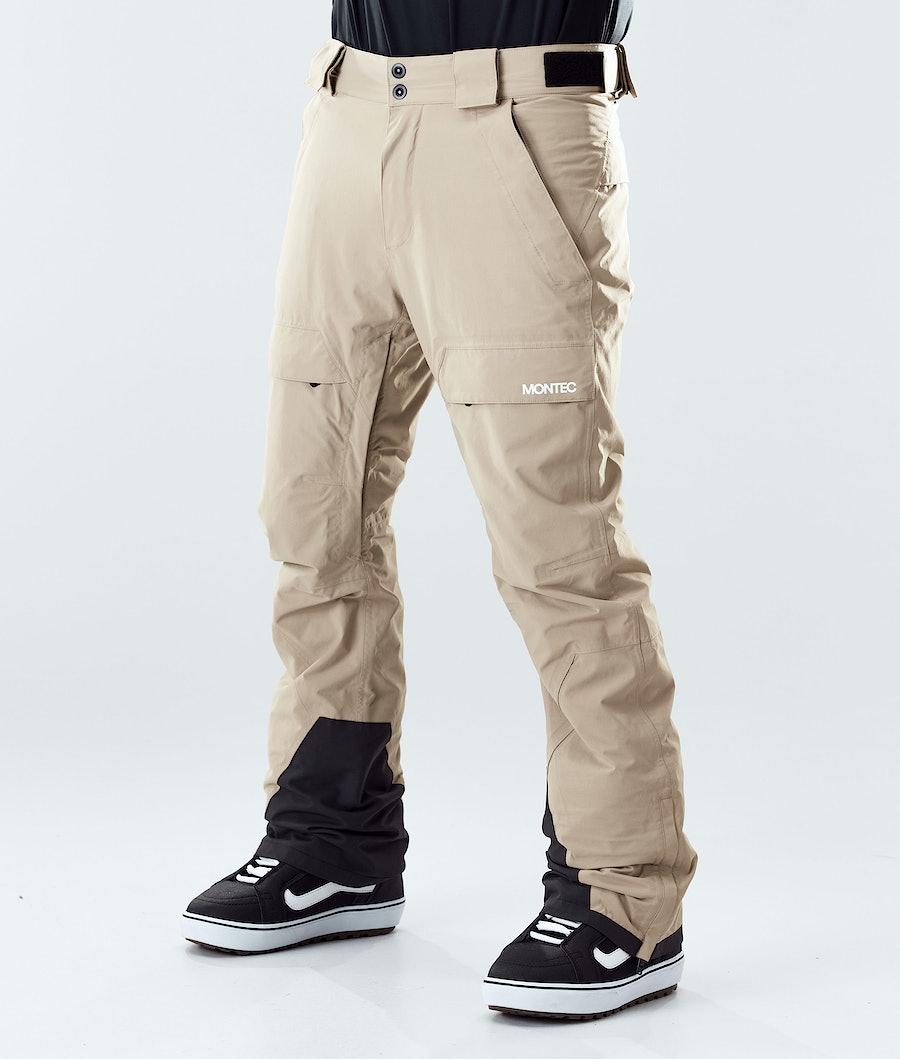 Montec Dune Snowboard Pants Khaki