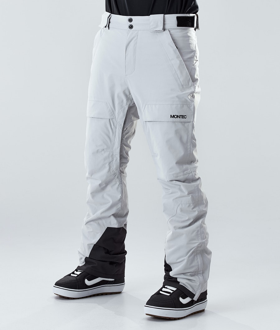 Montec Dune Snowboard Pants Light Grey
