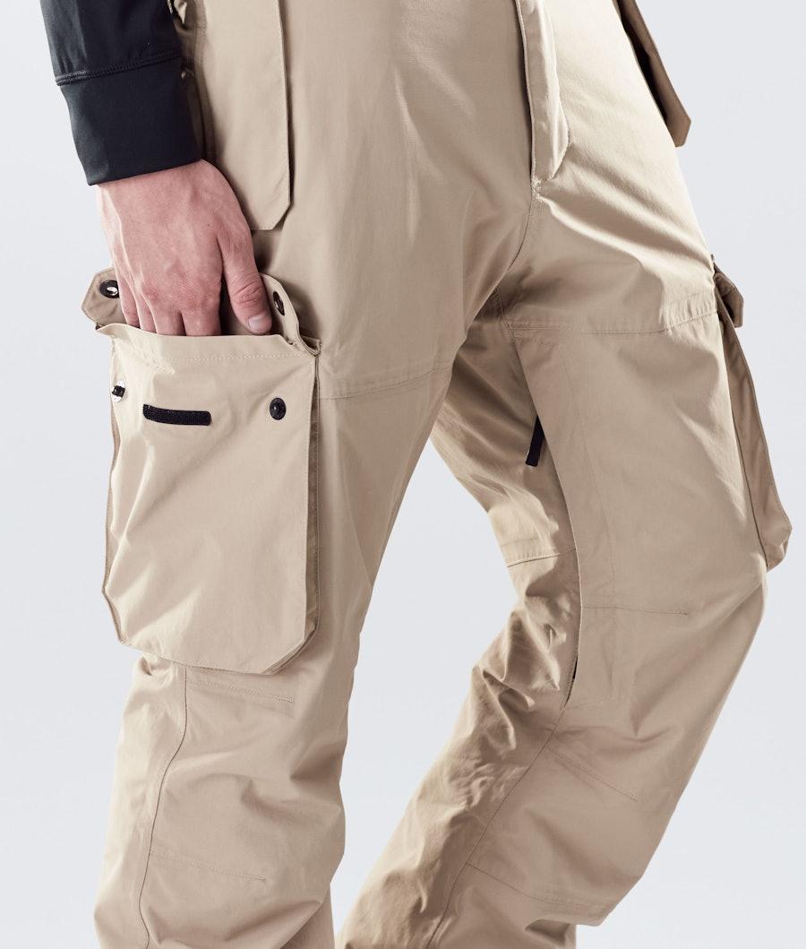 Montec Doom Snowboard Pants Khaki