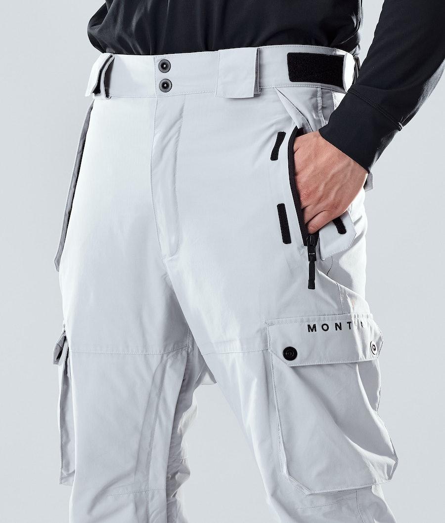 Montec Doom Snowboard Pants Light Grey