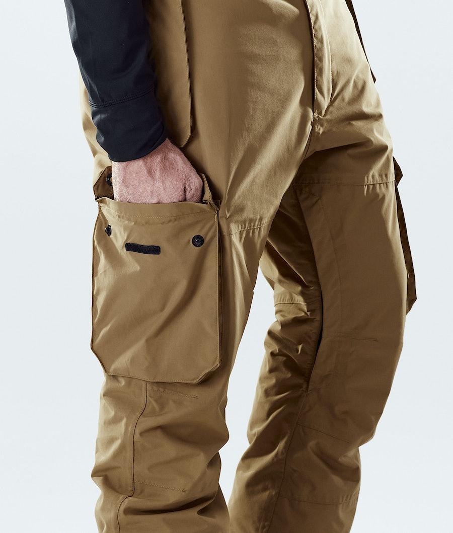 Montec Doom Snowboard Pants Gold