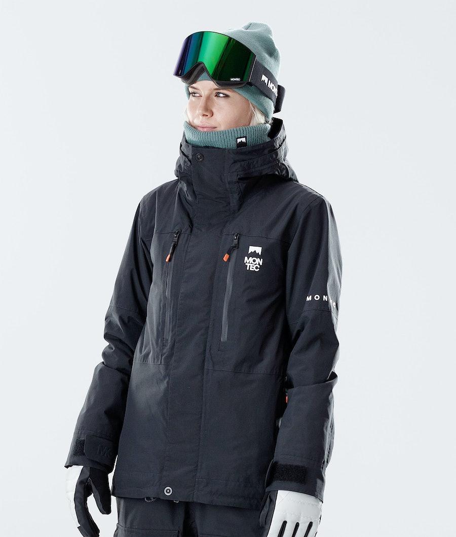 Fawk W Ski Jacket Women Black
