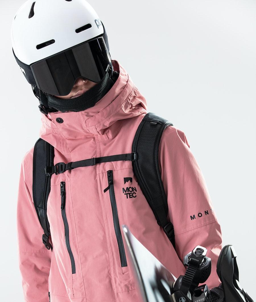 Montec Fawk W Women's Snowboard Jacket Pink