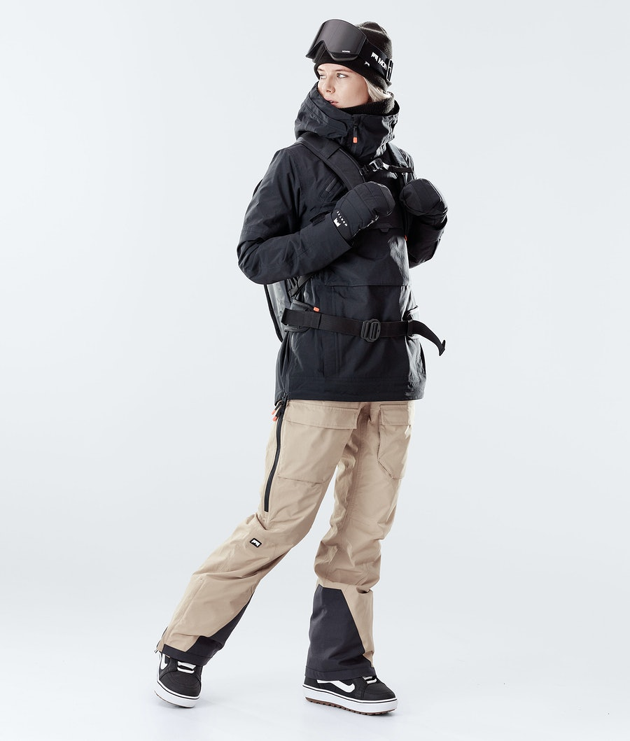 Montec Dune W Giacca Snowboard Donna Black