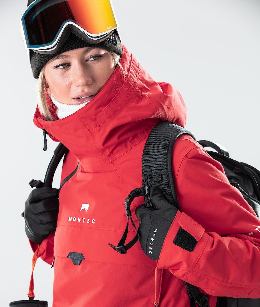 Montec Dune W Women's Ski Jacket Red
