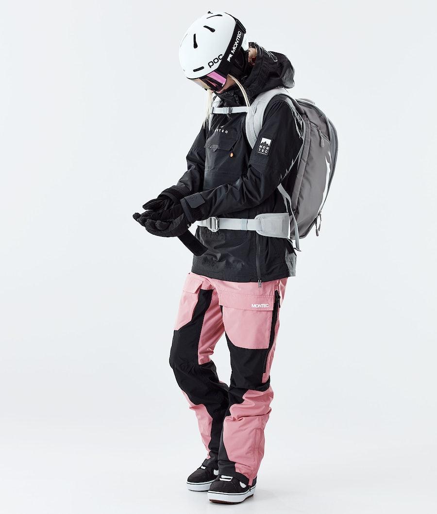 Montec Doom W Snowboardjacke Damen Black