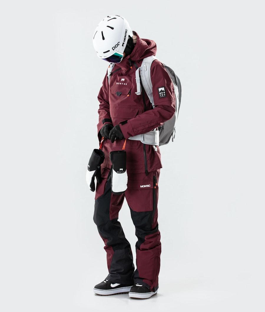 Montec Doom W Giacca Snowboard Donna Burgundy