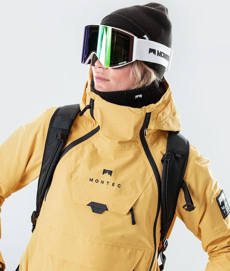Montec Doom W Women's Snowboard Jacket Yellow