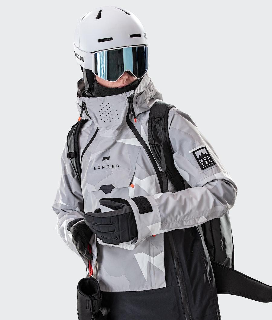 Montec Doom W Women's Snowboard Jacket Snow Camo/Black