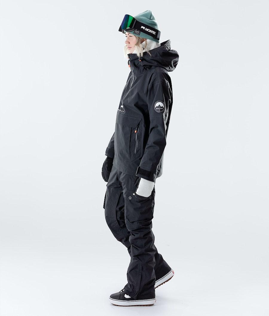 Montec Typhoon W Snowboardjacke Damen Black