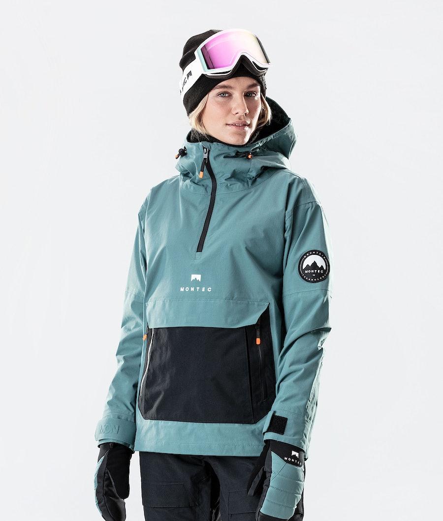 Typhoon W Ski Jacket Women Atlantic/Black