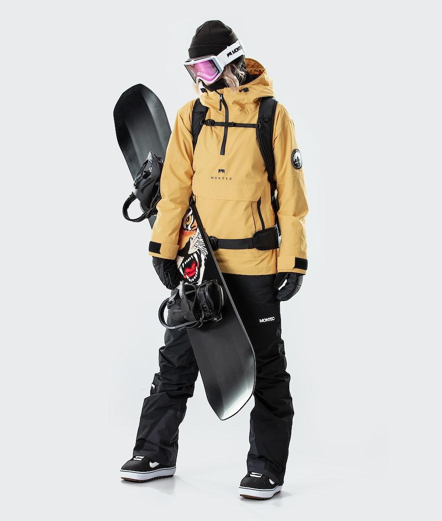 Montec Typhoon W Women's Ski Jacket Yellow