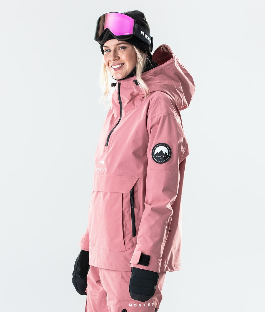 Montec Typhoon W Women's Snowboard Jacket Pink