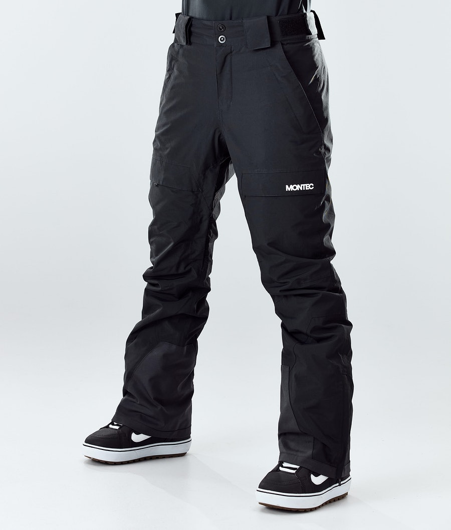 Dune W Ski Pants Women Black