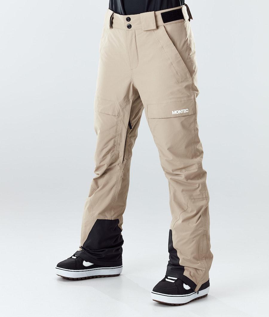 Montec Dune W Pantaloni Snowboard Khaki