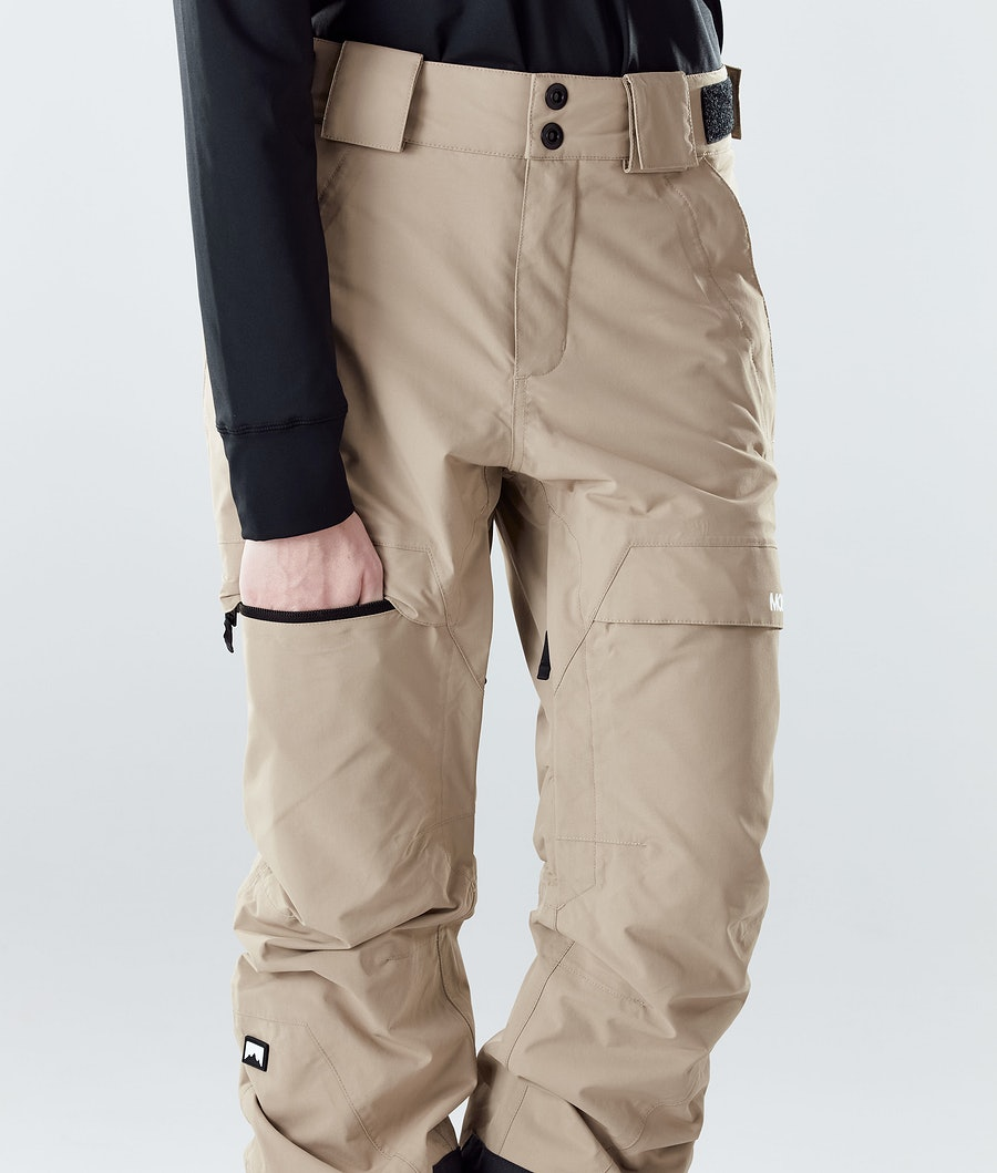 Montec Dune W Women's Snowboard Pants Khaki