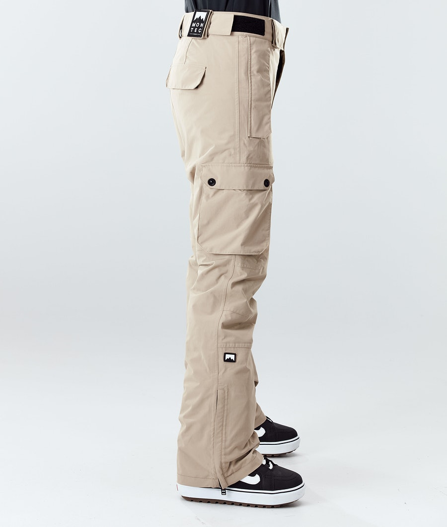 Montec Doom W Women's Snowboard Pants Khaki
