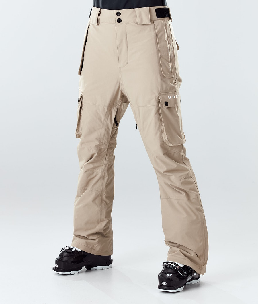Doom W Ski Pants Women Khaki