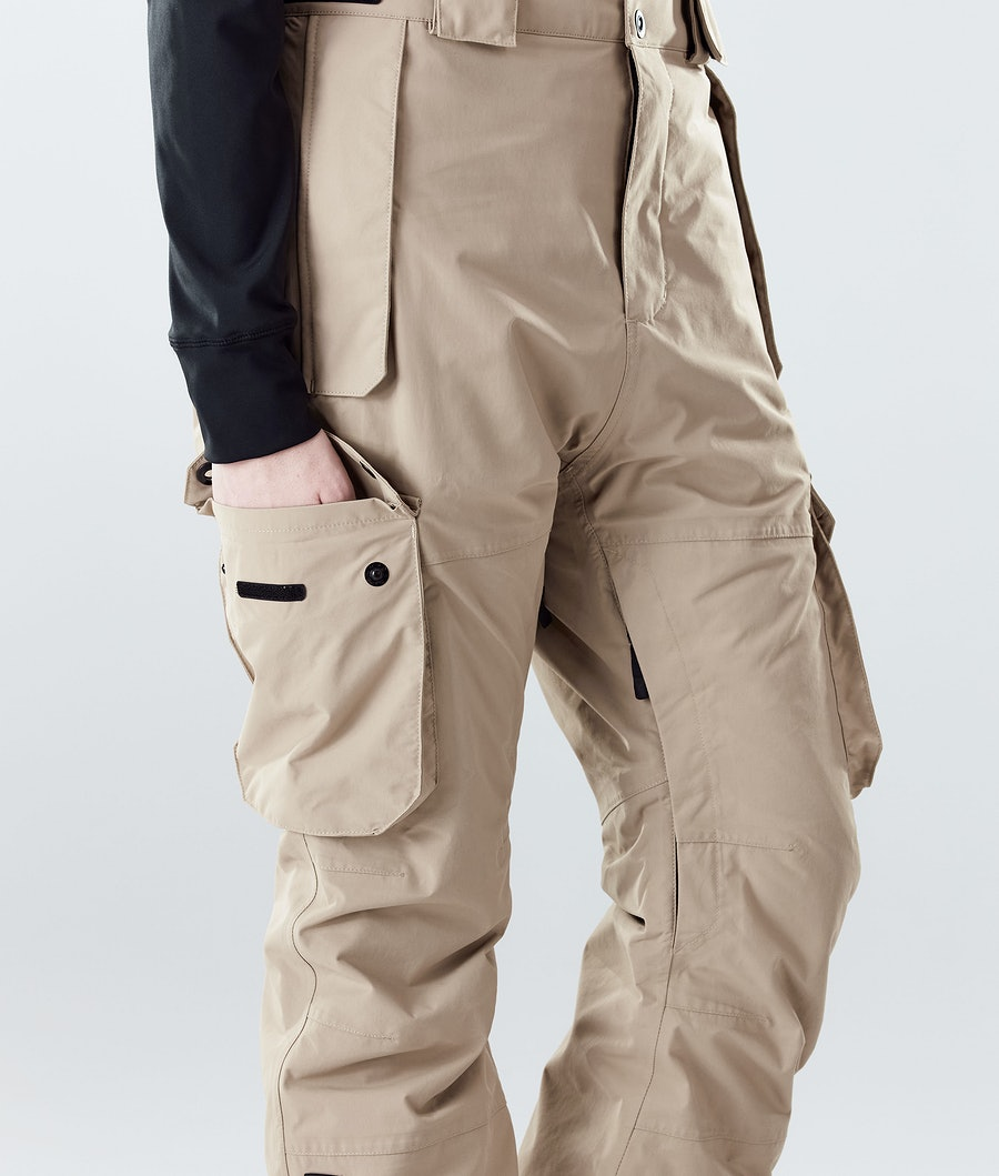 Montec Doom W Women's Ski Pants Khaki