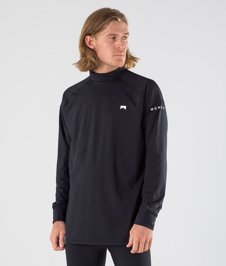 Montec Zulu Base Layer Top Black Base Layer Top Black