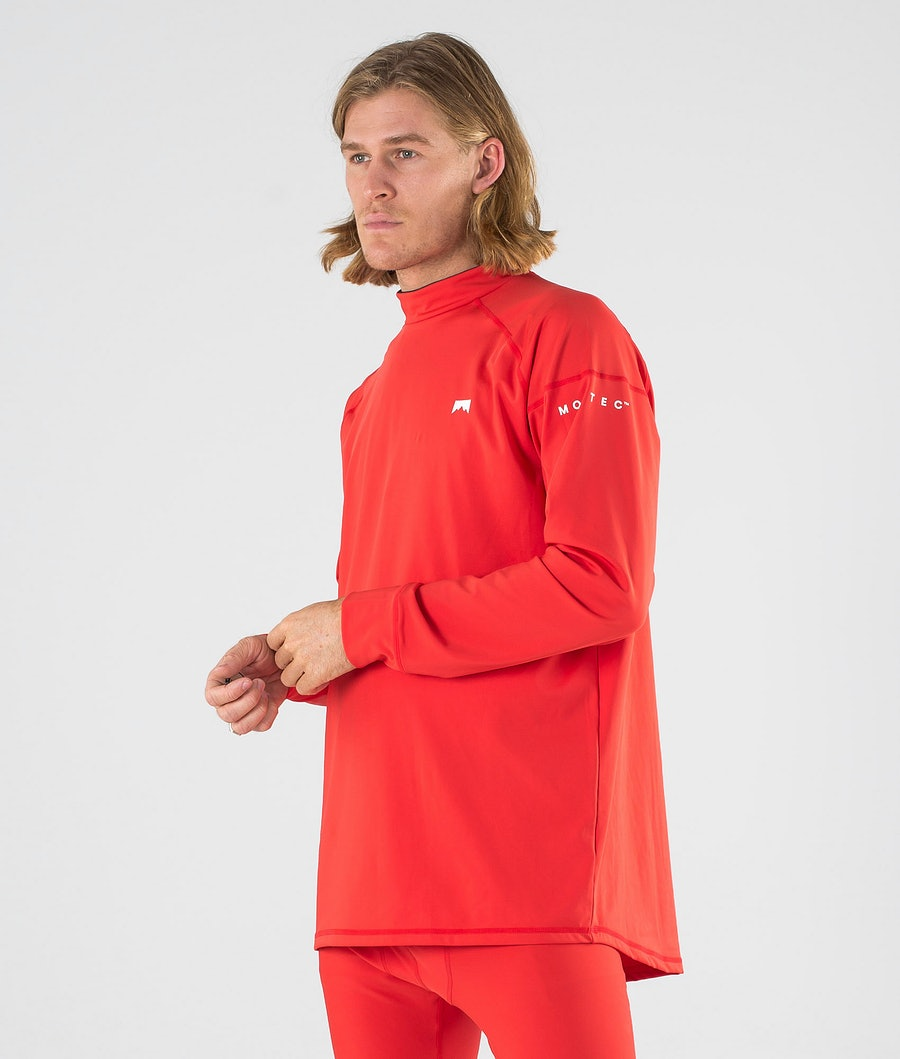 Zulu Base Layer Top Men Red