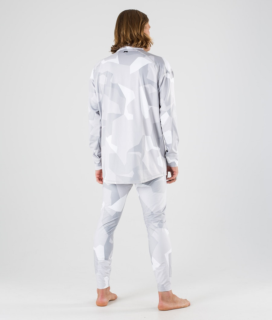 Montec Zulu Base Layer Pant Snow Camo