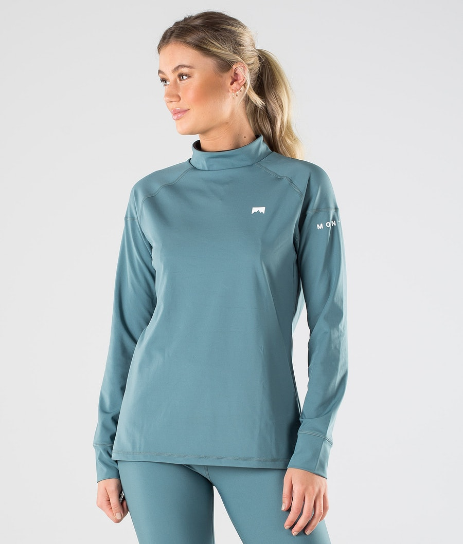Zulu W Base Layer Top Women Atlantic