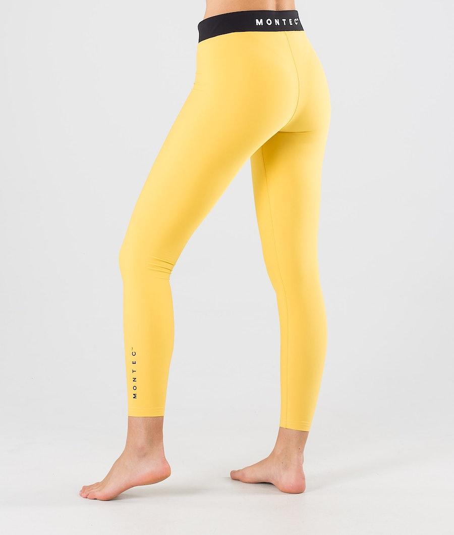 Montec Zulu W Women's Base Layer Pant Yellow
