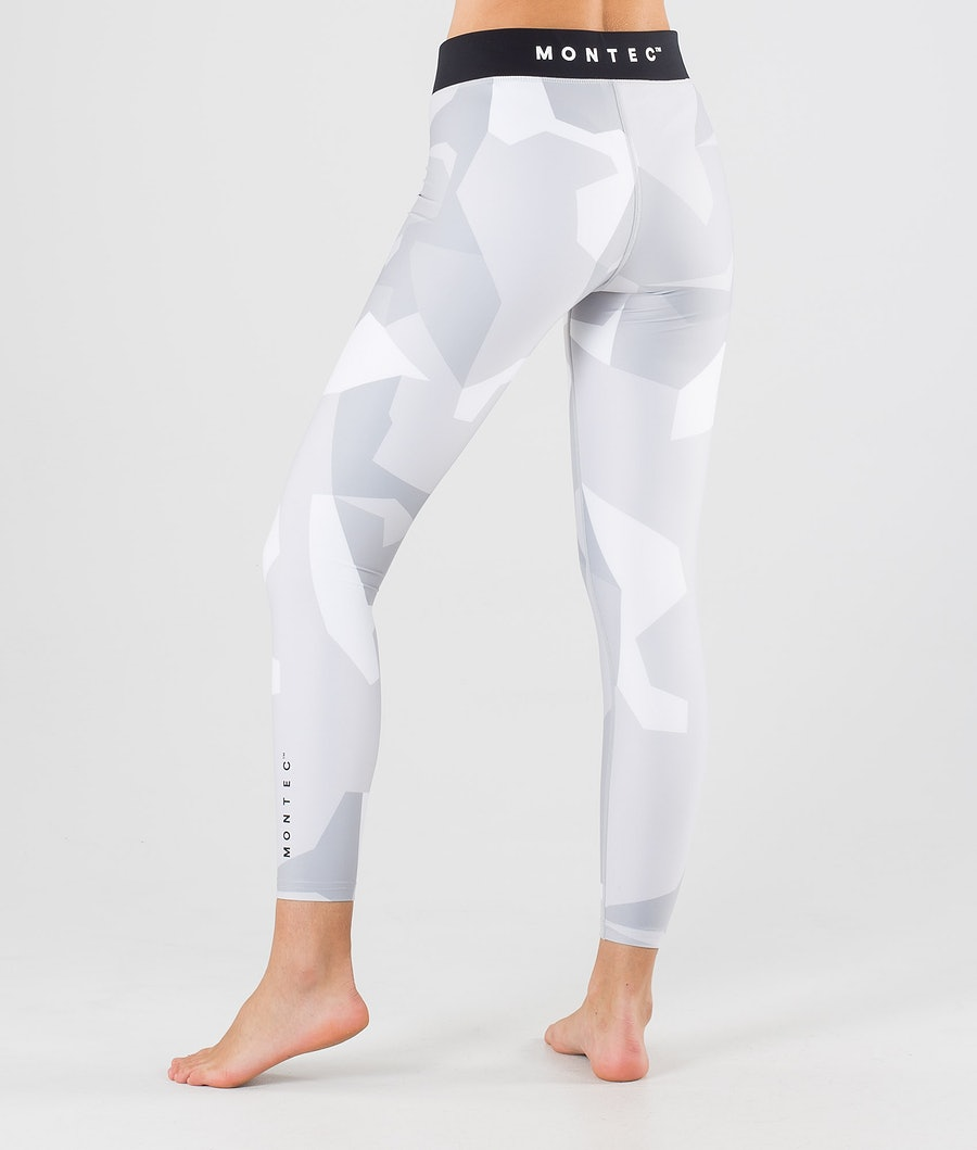 Montec Zulu W Women's Base Layer Pant Snow Camo