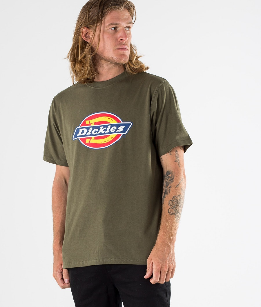 Dickies Horseshoe T-shirt Dark Olive