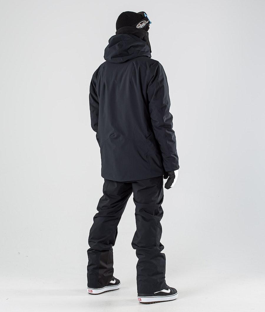 Peak Performance Maroon Long Giacca Snowboard Black